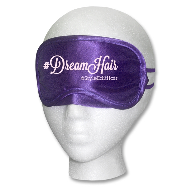 Purple Satin Sleep Mask