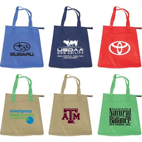 Full Color Insulated Tote Bags (large)