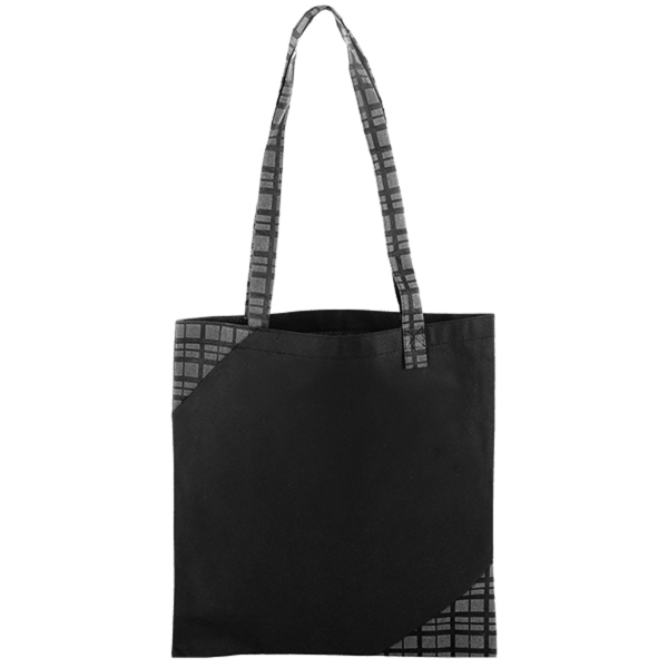 Polypro Printed Accent Tote