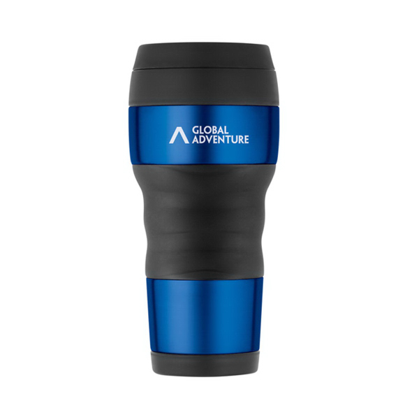 ThermoCafe(TM) by Thermos Travel Tumbler with Grip - 16 Oz.