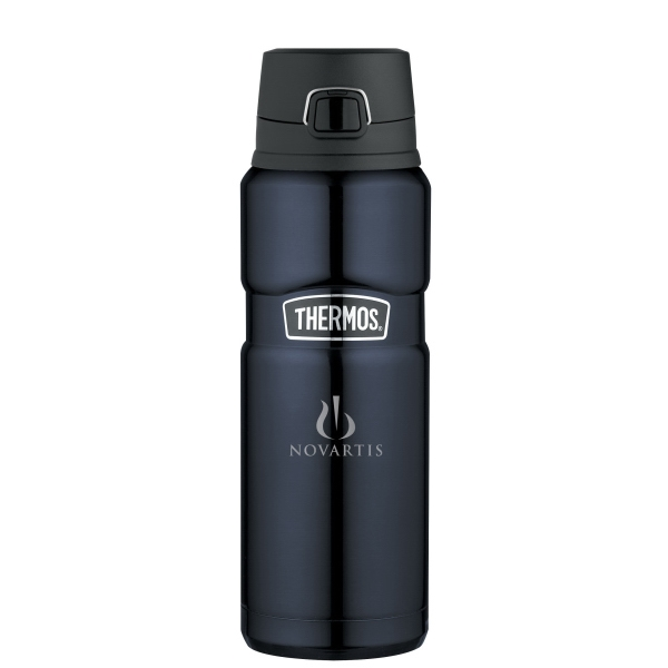 Thermos(R) Stainless King(TM) Direct Drink Bottle - 24 Oz.