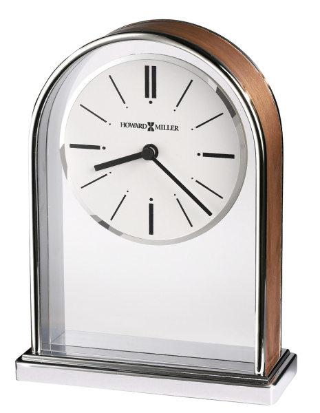 Milan metal tabletop clock