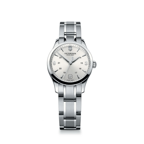 Small Silver Dial Stainless Steel Bracelet Timepiece
