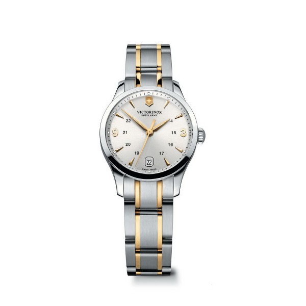 Alliance Two-Tone Stainless Steel Bracelet Watch