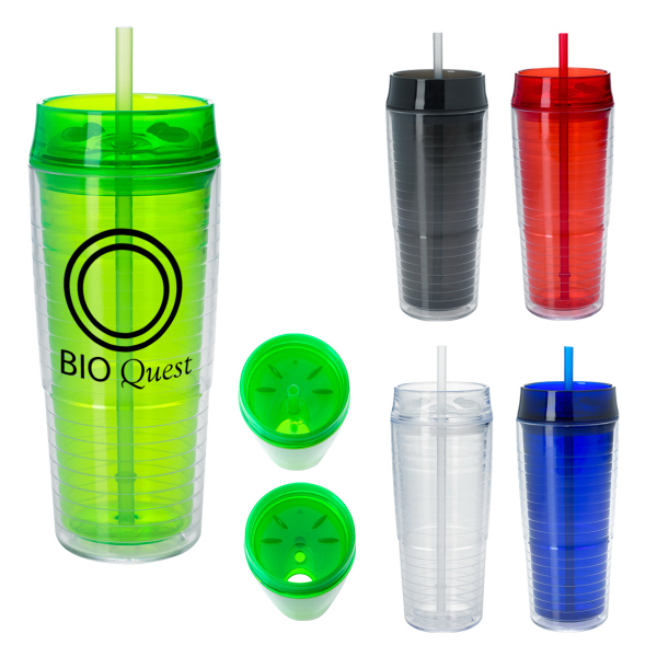 20 Oz. Luna Tumbler With Straw