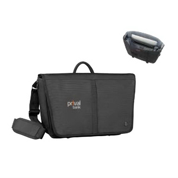 "Shifter 17""/43 cm Messenger Brief with Tablet Pocket"