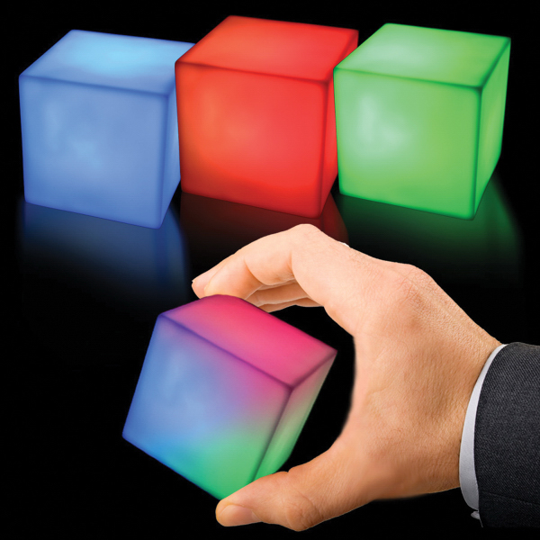 Cube MultiColor LED Shape
