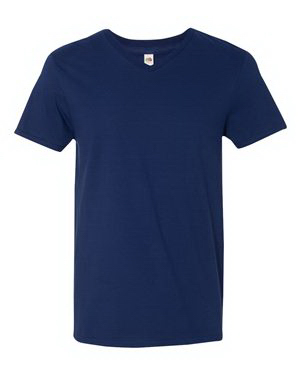 Fruit of the Loom (R) Sofspun (TM) V-Neck T-Shirt