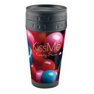 Full Color Axious Travel Tumbler - 16 oz