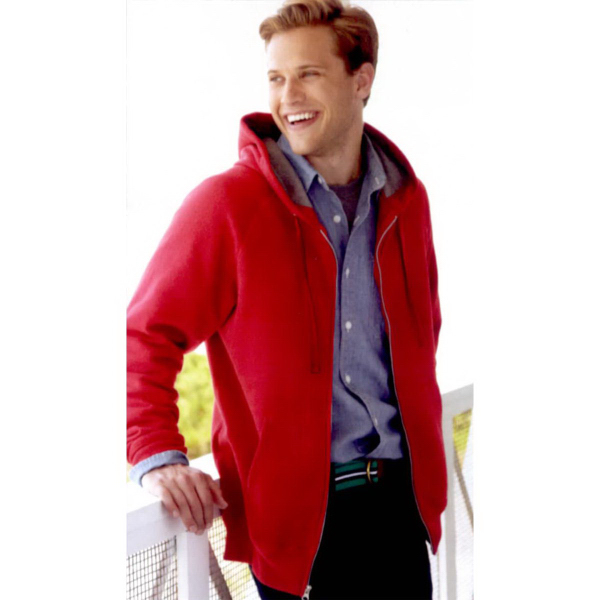 Hanes (R) Nano Full-Zip Hooded Sweatshirt