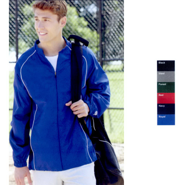 Rawlings Poly Dobby Full-Zip Jacket