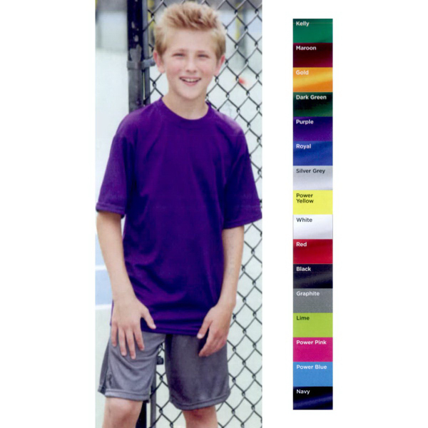 Augusta Sportswear(R) Youth Performance Short Sleeve T-Shirt