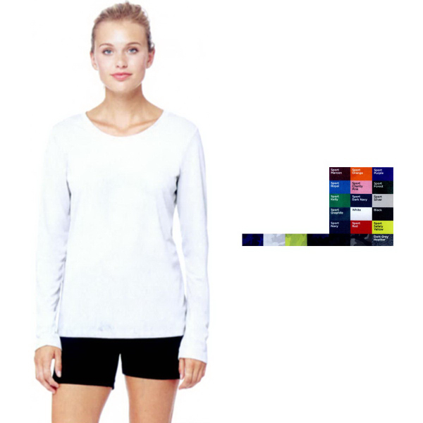Alo Sport (TM) Ladies' Performance Long Sleeve T-Shirt