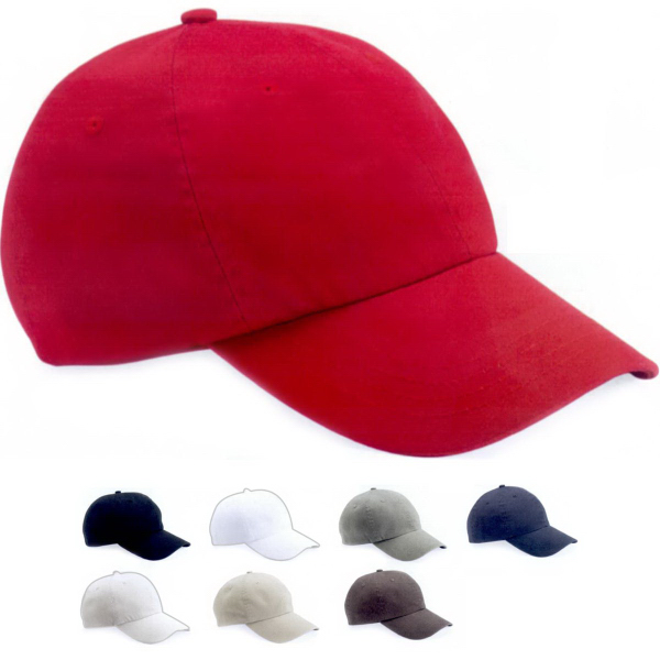Mega Cap Organic Washed Unstructured Cap