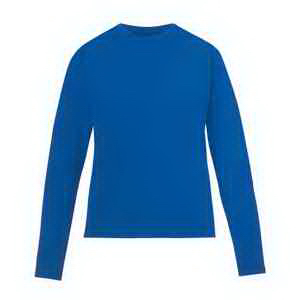 Ladies' Agility Performance Long-Sleeve Pique Crew Neck