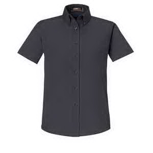 Core365 (TM) Ladies' Optimum Short-Sleeve Twill Shirt