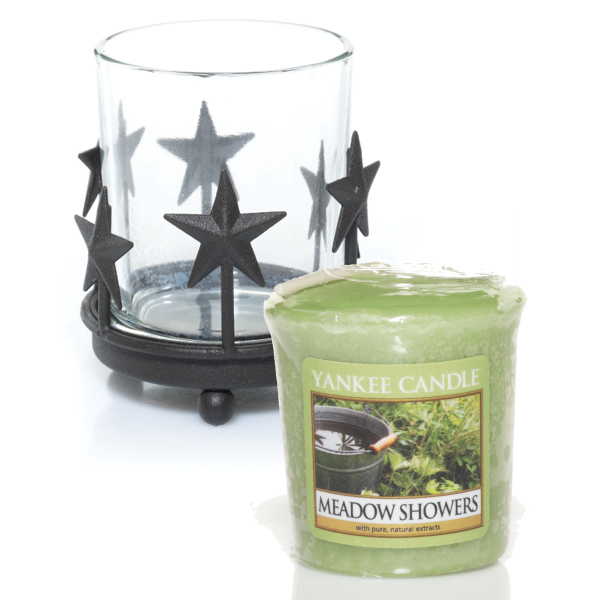 Sampler Votive Bundle - Rustic Stars-Meadow Showers