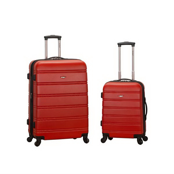 Melbourne, 2 Pc. Luggage Set - Red