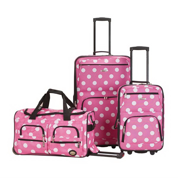 Journey II 3 Pc. Set - Pink Dot
