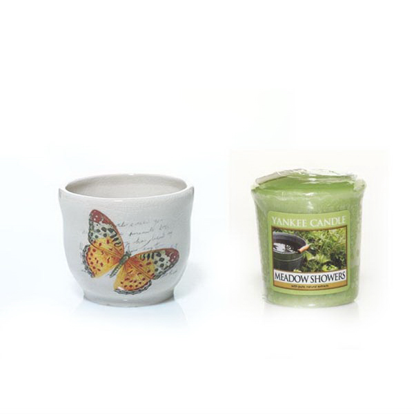 Sampler Votive Bundle - Butterfly-Meadow Showers