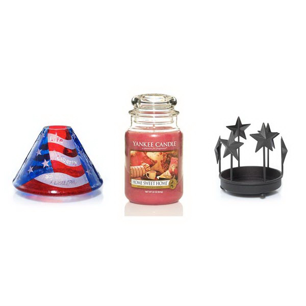 Jar Shade and Tray Bundle - Old Glory - Home Sweet Home