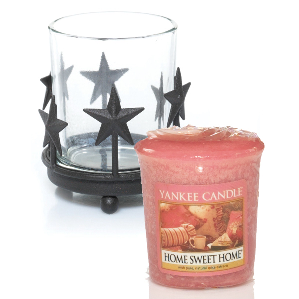 Sampler Votive Bundle - Rustic Stars-Home Sweet Home
