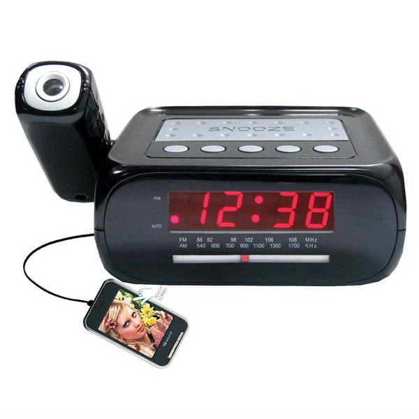 Alarm Clock and MP3/MP4 Video Player