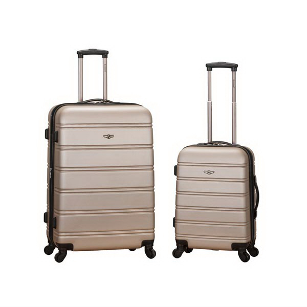 Melbourne, 2 Pc. Luggage Set - Champagne