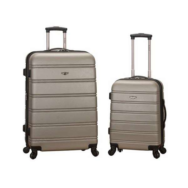Melbourne, 2 Pc. Luggage Set - Silver