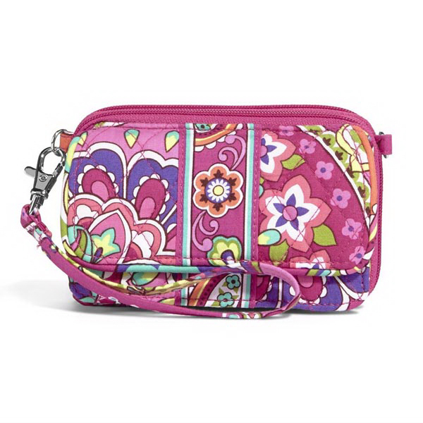 All in One Crossbody - Pink Swirls