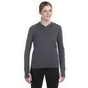 Alo Ladies' Performance Triblend Jersey Long Sleeve Hooded