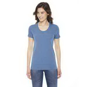 American Apparel Ladies' Triblend Short Sleeve Track T-Shirt
