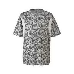 Men's Athletic V-Neck All Sport Sublimated Camo Jersey