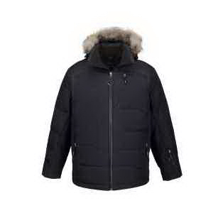 North End (R) Men's Boreal Down Jacket with Faux Fur Trim