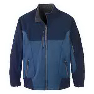 North End (R) Men's Compass Colorblock Soft Shell Jacket