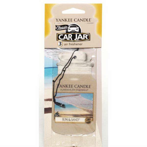 Car Jar (R) Air Fresheners 3 Pack - Sun & Sand