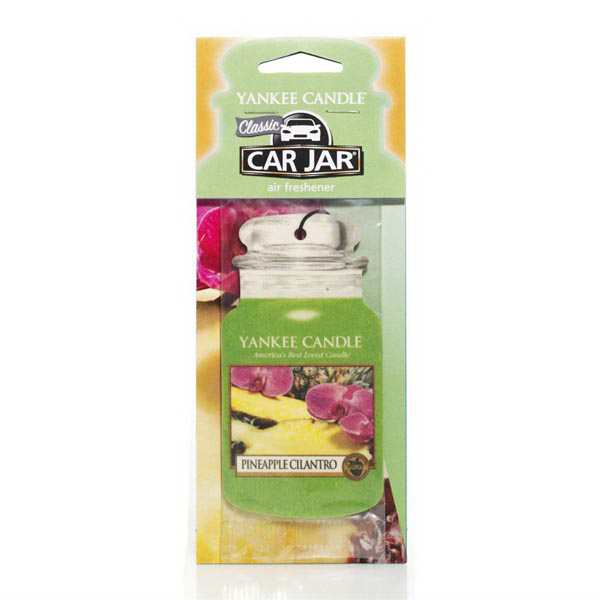 Car Jar (R) Air Fresheners 3 Pack - Pineapple Cilantro