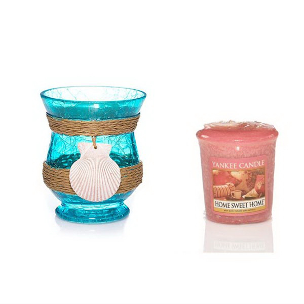 Sampler Votive Bundle - Turquoise Water-Home Sweet Home