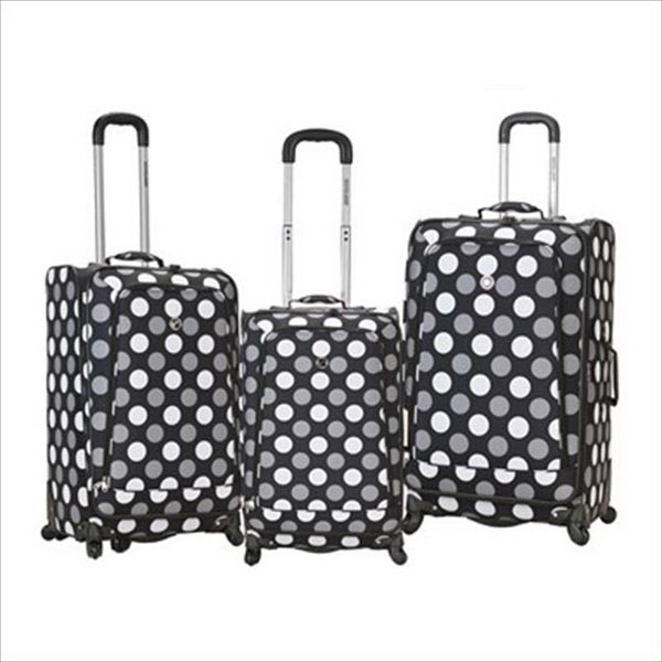 Fusion, 3 pc. Set - Black Dot