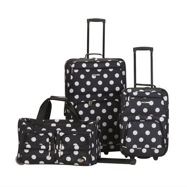 Journey II 3 Pc. Set - Black Dot