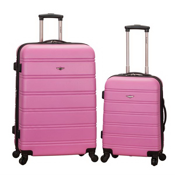 Melbourne, 2 Pc. Luggage Set - Pink