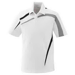 Men's Impact Performance Polyester Pique Colorblock Polo