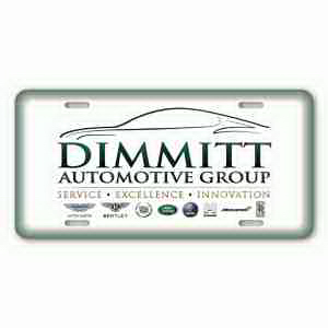 4-Color Process License Plates