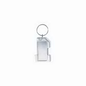 4-Color Process Acrylic Key Tags with Mirror on Back