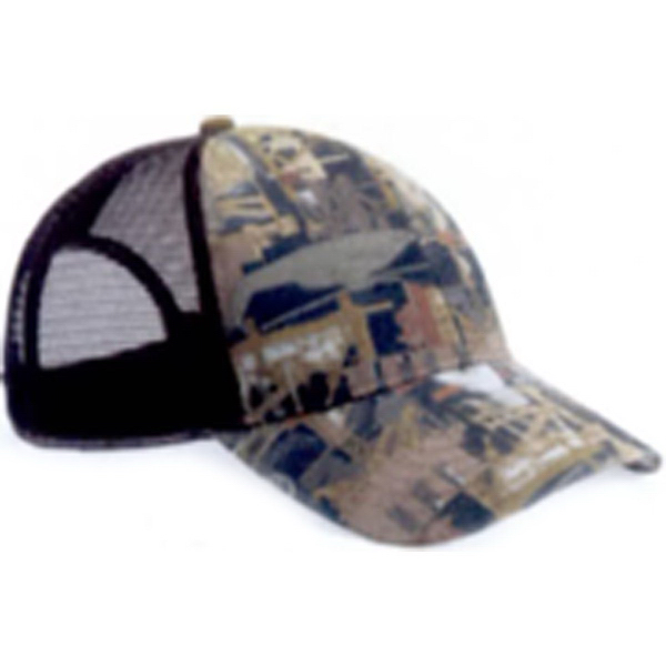 Kati Oilfield Camo Cap with Mesh Back