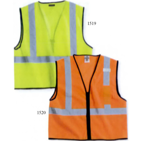 ML Kishigo Class 2 Economy Vest With Zipper Front