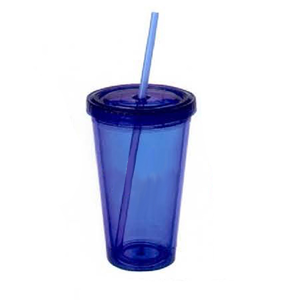Imprinted 16 oz. Acrylic Double Wall Tumbler