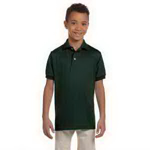 Youth 5.6 oz 50/50 Jersey Polo with SpotShield (TM)