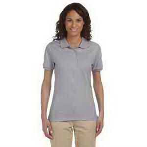 Ladies' 5.6 oz, 50/50 Jersey Polo with SpotShield (TM)