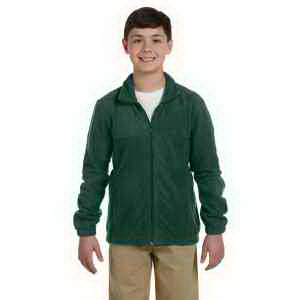 Harriton Youth 8 oz Full Zip Fleece